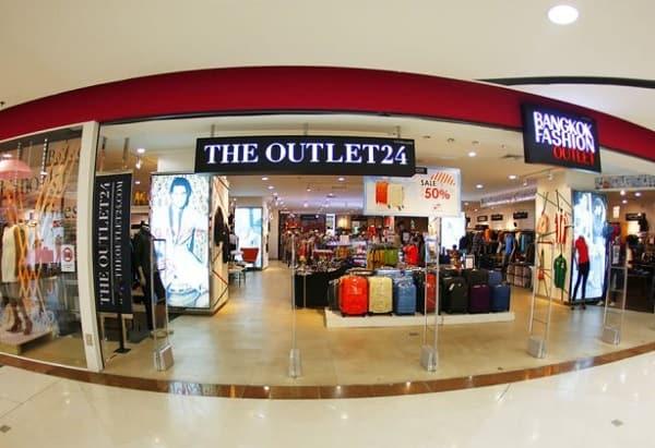 Mua sắm ở Bangkok Fashion Outlet, ưu tiên mua ở The Outlet 24