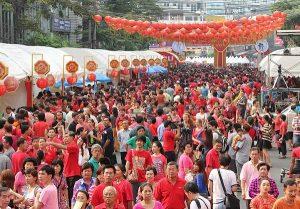 Ngày lễ của Thái Lan, tết Nguyên đán của người Trung Quốc