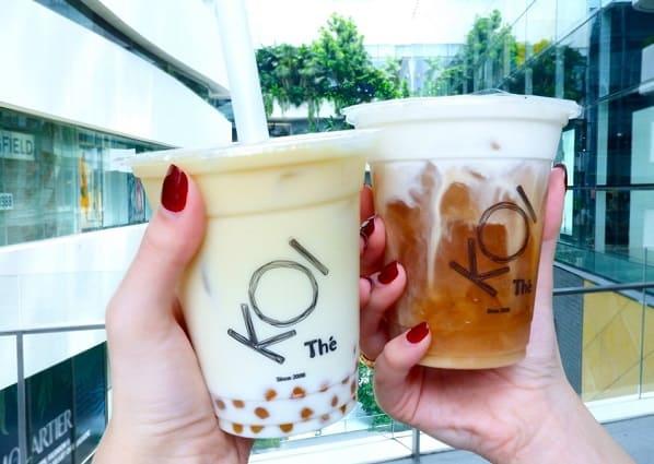 Quán trà sữa ở Bangkok: Koi, trà sữa ngon ở Bangkok