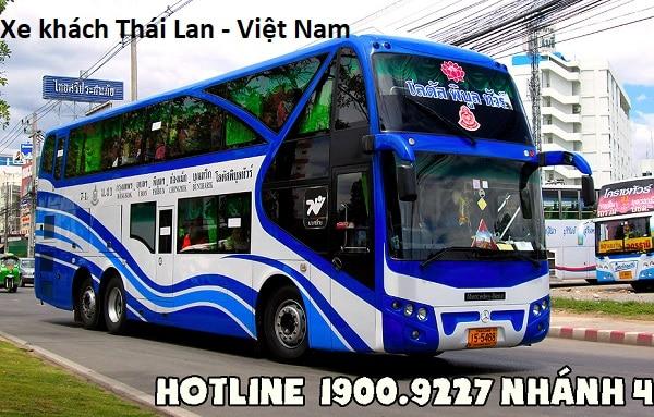 Số điện thoại, giá vé xe khách đi Thái Lan từ Hồ Chí Minh, Việt Nam. Các hãng xe khách Việt Nam Thái Lan uy tín, chất lượng