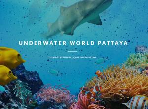 Thuỷ cung Underwater World Pattaya - Thủy cung đẹp nhất Pattaya