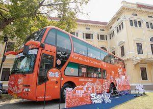 Chiếc Xe bus Hop On Hop Off của Siam Hop đầy tiện nghi, hiện đại