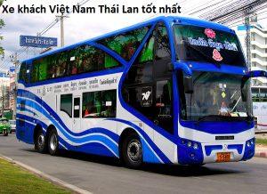 Xe khách Việt Nam Thái Lan uy tín, chất lượng