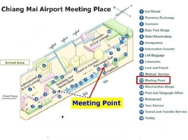 Sân bay quốc tế ở Thái Lan. Sân bay quốc tế ở Thái Lan có chuyến bay thẳng đến Việt Nam. Sân bay Chiang Mai