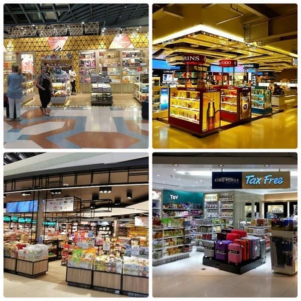 Sân bay quốc tế Suvarnabhumi. Ở sân bay Bangkok nên mua gì?