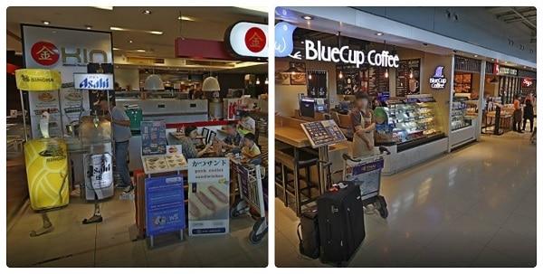 Nên ăn gi ở sân bay quốc tế Suvarnabhumi?