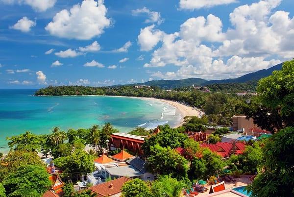 Du lịch Phuket nên ở đâu, bãi biển Kara là nơi dành cho các cặp đôi
