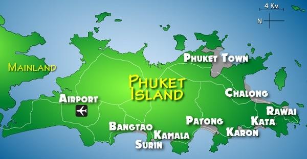 Du lịch Phuket nên ở đâu, đặt phòng khách sạn ở khu vực nào?