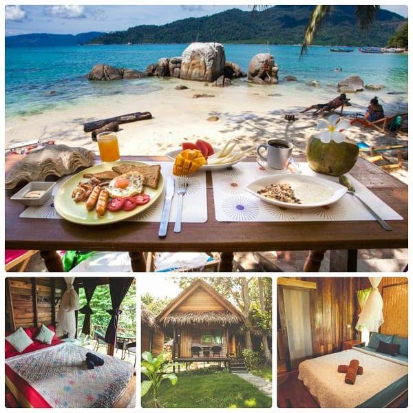 Du lịch đảo Koh Lipe ở tại khách sạn Bayview Sunset Resort điểm ngắm hoàng hôn đẹp nhất