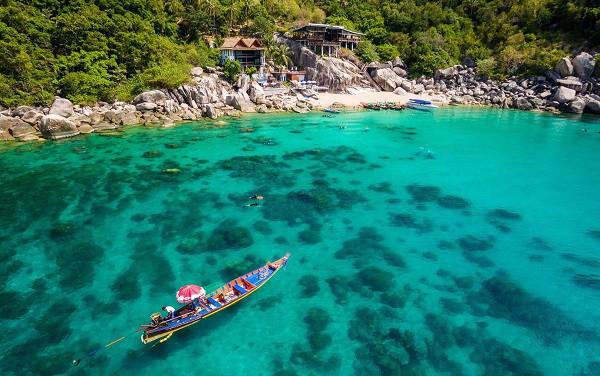 Chinh phục Mango Bay trong hành trình du lịch đảo Koh Tao