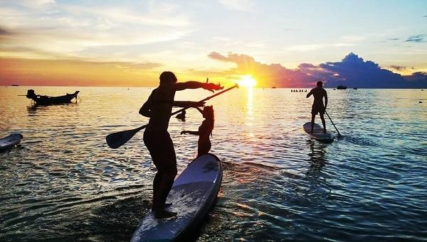 Du lịch Koh Tao đừng quên SUP Tao - chèo thuyền ngắm san hô