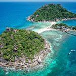 Lịch trình du lịch đảo Koh Tao không thể bảo qua Koh Nang Yuan