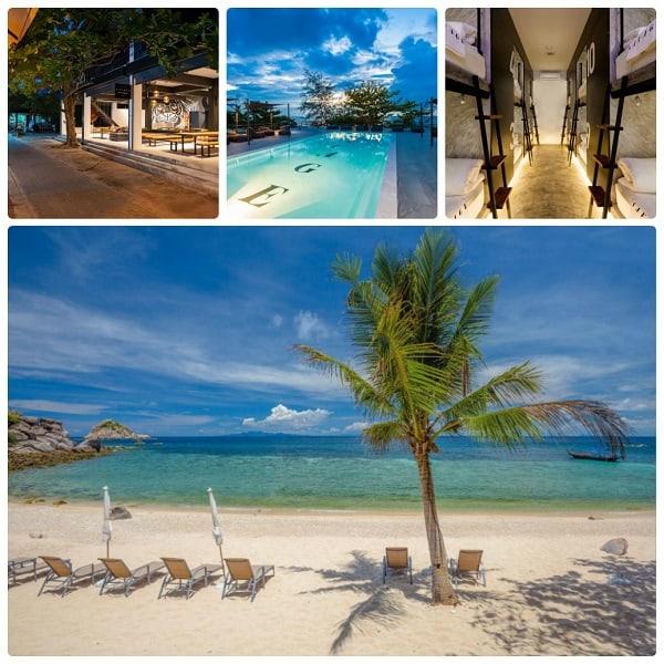Khách sạn Savage Koh Tao phù hợp cho chuyến du lịch đảo Koh Tao tự túc, giá rẻ