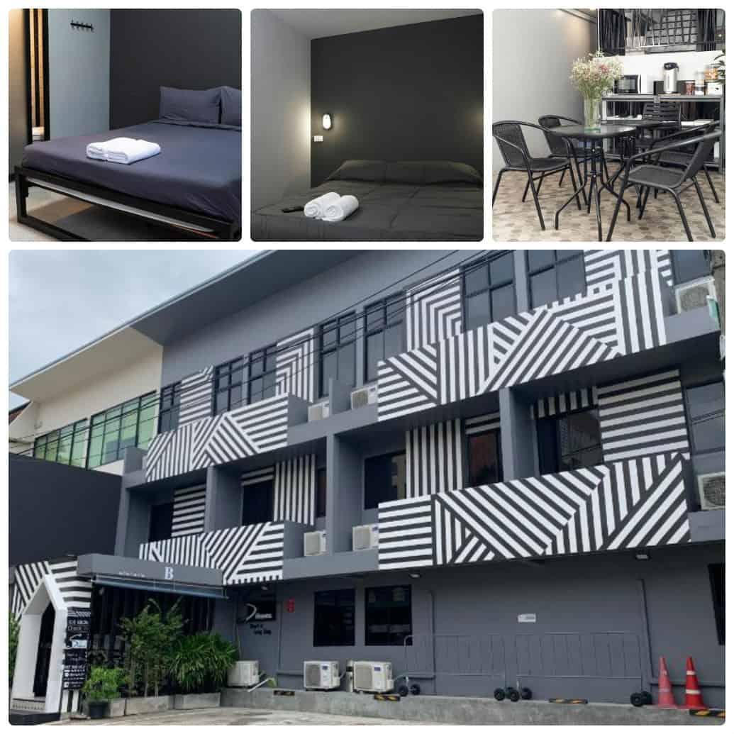 S Heaven Short & Long Stay, khách sạn bình dân ở gần sân vận động Rajamangala