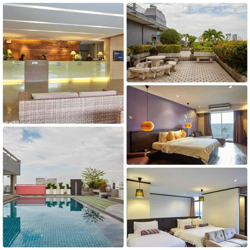 Bangkok Inter Place Hotel, khách sạn cao cấp gần sân vận động Rajamangala
