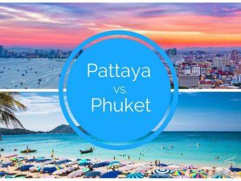 Nên đi Phuket hay Pattaya, đi đâu đẹp hơn, vui hơn, rẻ hơn?