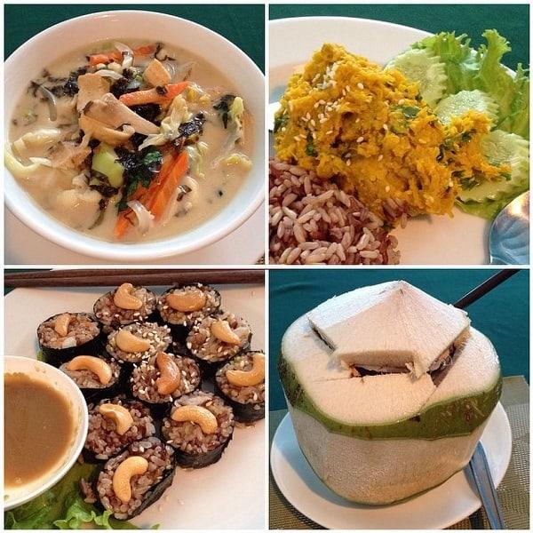 Nhà hàng chay ở Bangkok ngon, nổi tiếng: May Kaidee