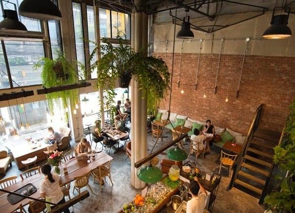 Broccoli Revolution, nhà hàng chay ở Bangkok có không gian thanh tịnh, thoánh mát