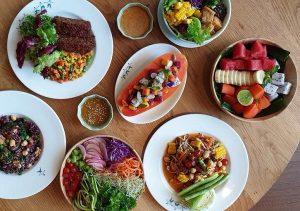 Ăn chay ở đâu Bangkok, nhà hàng chay ở Bangkok Broccoli Revolution