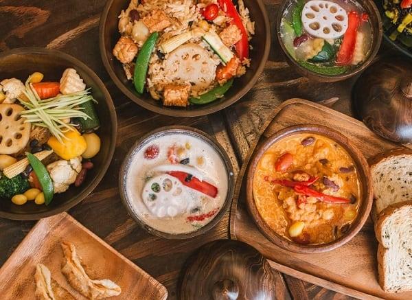 Mango, quán ăn chay ở Bangkok ngon, giá rẻ