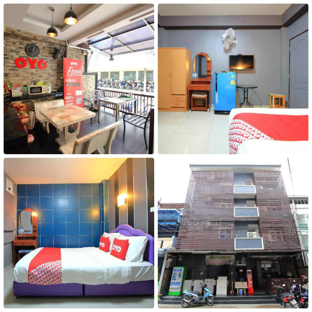 OYO 302 Bb Guesthouse, nhà nghỉ giá rẻ gần sân vận động Rajamangala