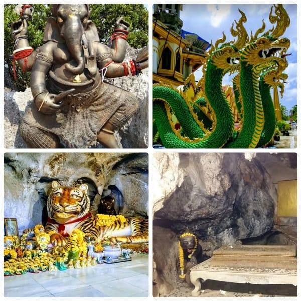 Đền Tiger Cave Temple nằm ở đâu?