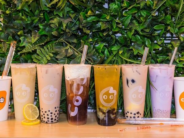 COCO Fresh Tea & Juice, một quán trà sữa ở Bangkok nổi tiếng