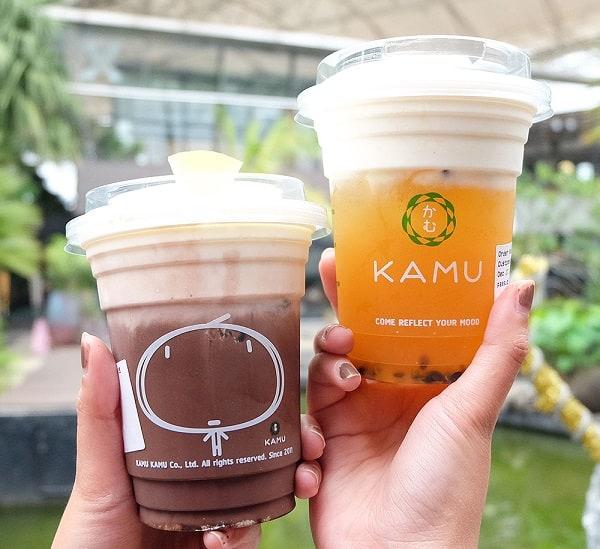 Một quán trà sữa ở Bangkok nhất định phải thử: Kamu tea