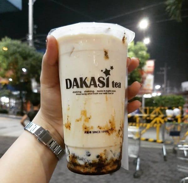 Dakasi, quán trà sữa ngon ở Bangkok