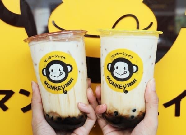 Quán trà sữa ở Bangkok được nhiều người lựa chọn: Monkey Shake