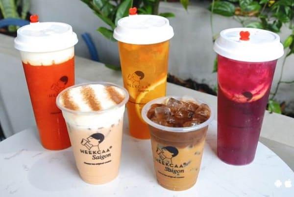 Quán trà sữa ở Bangkok, Heekcaa với kem chesse siêu ngon
