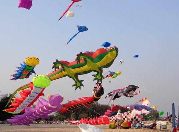 Review lễ hội thả diều ở Thái Lan chi tiết. Lễ hội thả diều ở Thái Lan diễn ra ở đâu, khi nào?