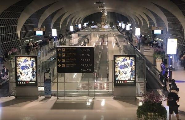 Sân bay Quốc tế ở Thái Lan có chuyến bay thẳng đến Việt Nam. Suvarnabhumi Airport. Sân bay Quốc tế ở Thái Lan