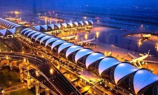 Sân bay quốc tế ở Thái Lan. Sân Bay lớn nhất ở Thái Lan Suvarnabhumi Airport