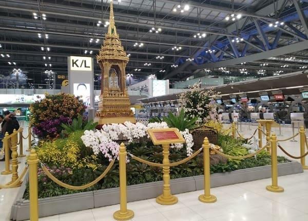 Sân bay quốc tế ở Thái Lan. Sân bay quốc tế tại Thái Lan có thiết kế độc đáo. Sân bay quốc tế Thái Lan Suvarnabhumi