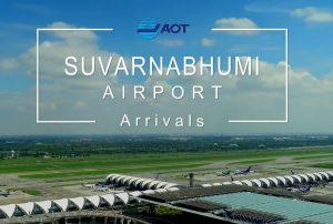 Sân bay quốc tế Suvarnabhumi. Sân bay lớn nhất ở Thái Lan