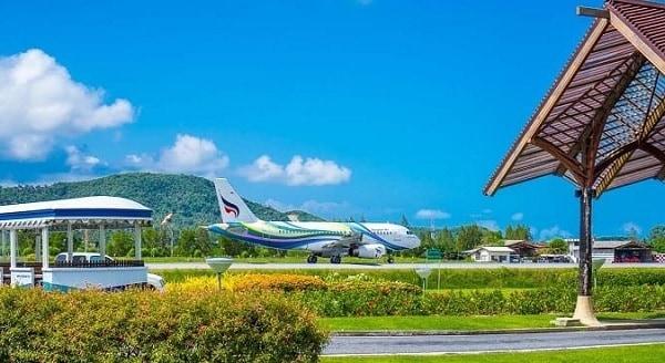 Sân bay quốc tế ở Thái Lan. Sân bay quốc tế Koh Samui đẹp nhất Thái Lan