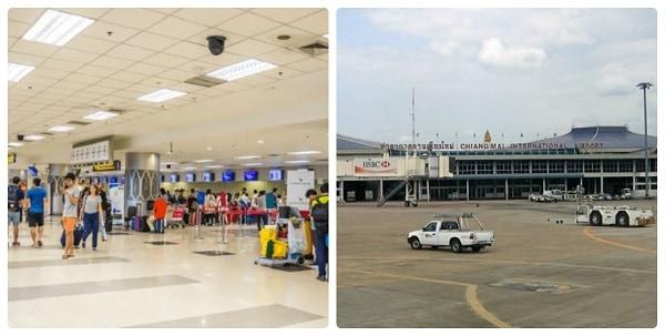 Sân bay quốc tế ở Thái Lan. Sân bay quốc tế tại Thái Lan có thiết kế độc đáo. Sân bay Chiang Mai