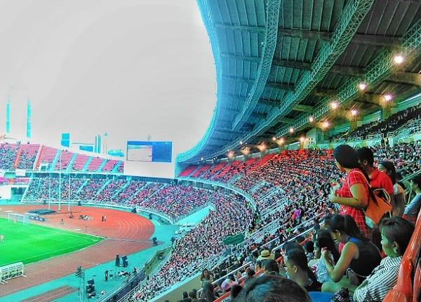 Cách đi đến sân vận động Rajamangala ở Bangkok, Thái Lan