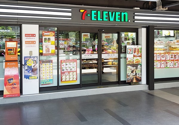 Siêu thị ở Bangkok nổi tiếng nhất, Siêu thị 7-Eleven