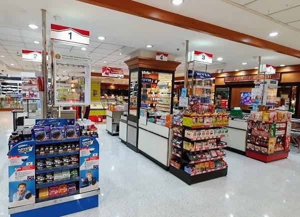 Siêu thị ở Bangkok, siêu thị Foodland Sukhumvit chuyên đồ ăn vặt