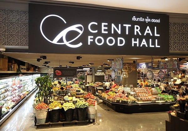Central Food Hall, siêu thị ở Bangkok nằm ở Central World