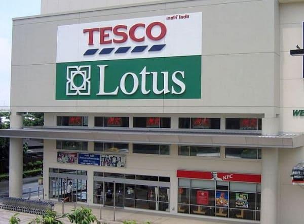 Tesco Lotus, siêu thị ở Bangkok được yêu thích nhất