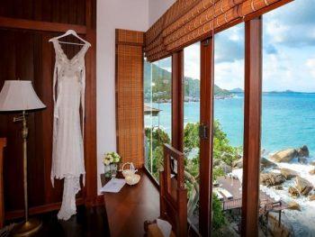Khách sạn Koh Samui gần biển. Khách sạn The Kala Samui. Khách sạn giá rẻ ở Koh Samui