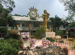 Đền Tiger Cave Temple. Ngôi đền nổi tiếng ở Krabi