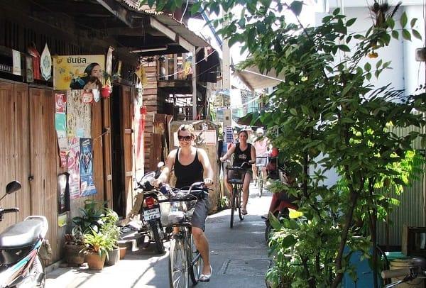 Tour du lịch Bangkok giá rẻ, tour đạp xe đạp khám phá Bangkok