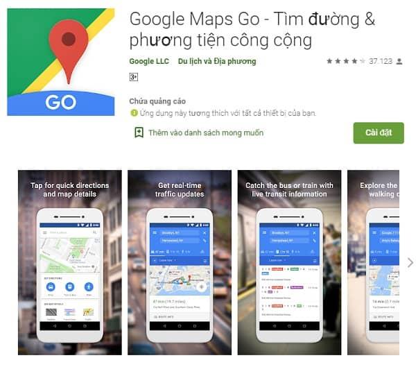 Google Maps, ứng dụng du lịch Thái Lan cần thiết