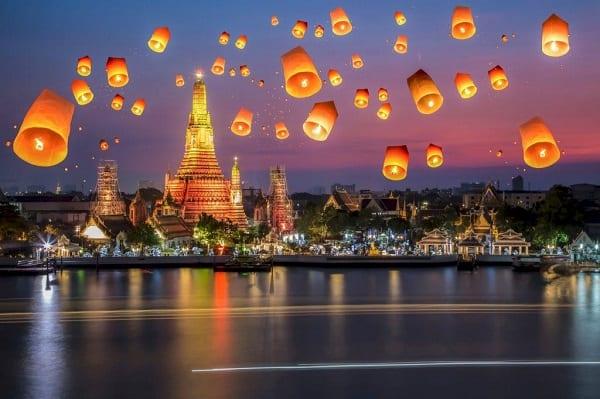 Thời gian bay từ Việt Nam sang Thái Lan bao lâu?