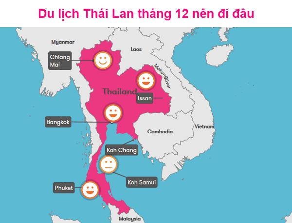 Du lịch Thái Lan tháng 12 nên đi đâu, làm gì?