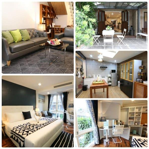 Airbnb ở Bangkok tốt nhất, airbnb 3 phòng ngủ của Neveu Premier Residence